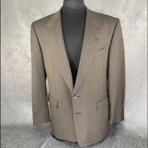Pal Zileri Houndstooth Two Button Sport Coat - 42R